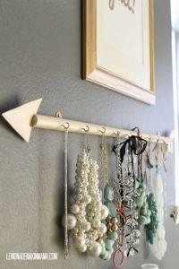 Diy Necklace Holder Hanger | www.imgkid.com - The Image ...