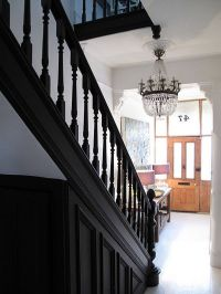 black trim and moulding   Stairs   Pinterest