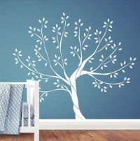 White Tree Wall Decal Nursery Wall Decal by Jesabi on Etsy ...