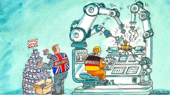 Image result for german efficiency cartoon