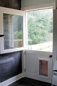 Dutch Door: Dutch Door With Window