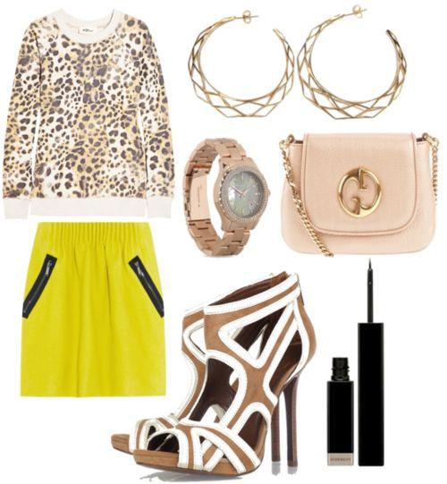 neon leopard...brilliant!
