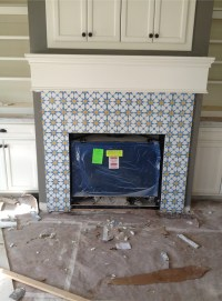 Projects: Moroccan tile fireplace | Paloma Interior Design ...