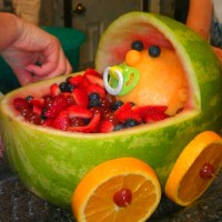 Baby shower ideas Fruit baby carriage   All Other stuff ...