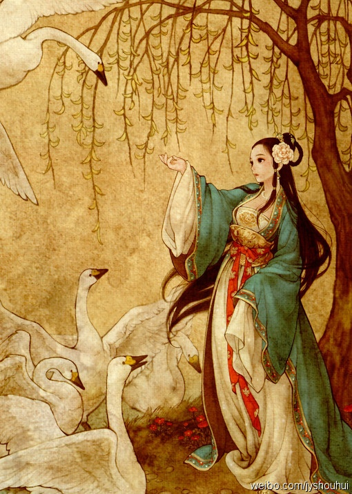 vetement-traditionnel-chinois-hanfu-dessin-kawaii-belle