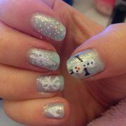 disney frozen nail art nails