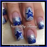 Dallas Cowboys Nail Art Designs | Joy Studio Design ...