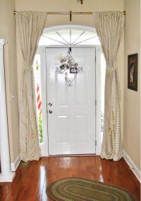 Front door curtain | To DIY | Pinterest