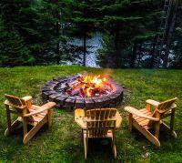 Fire pit | Haliburton Cottages | Pinterest