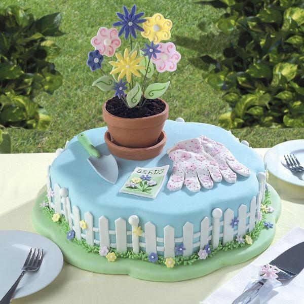 Grandma Garden Sign Ideas Photograph Gardener Cake 80th