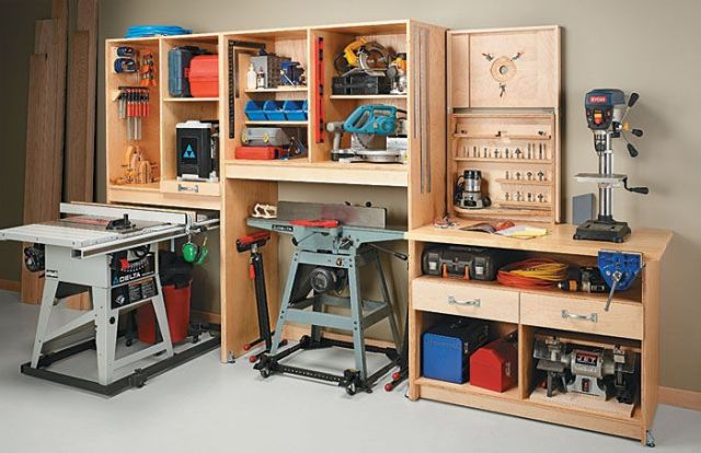 space saving workshop | Workshop ideas | Pinterest