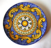 Italian Ceramic Wall Plate from Sicily | Love Home | Pinterest