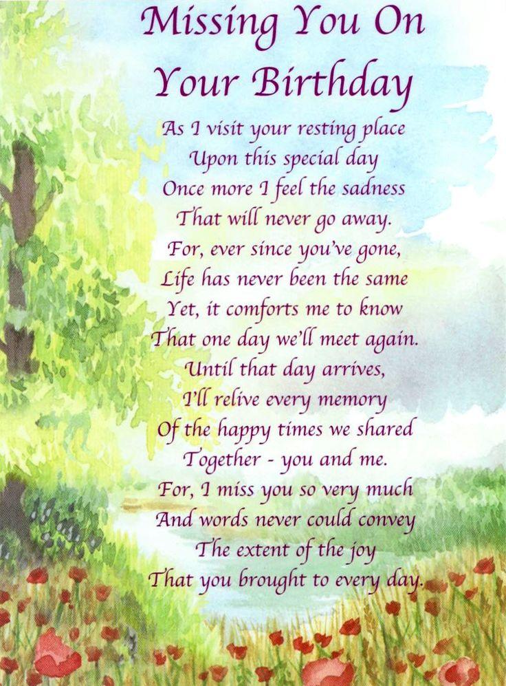 Happy Heaven Quotes Birthday Mother