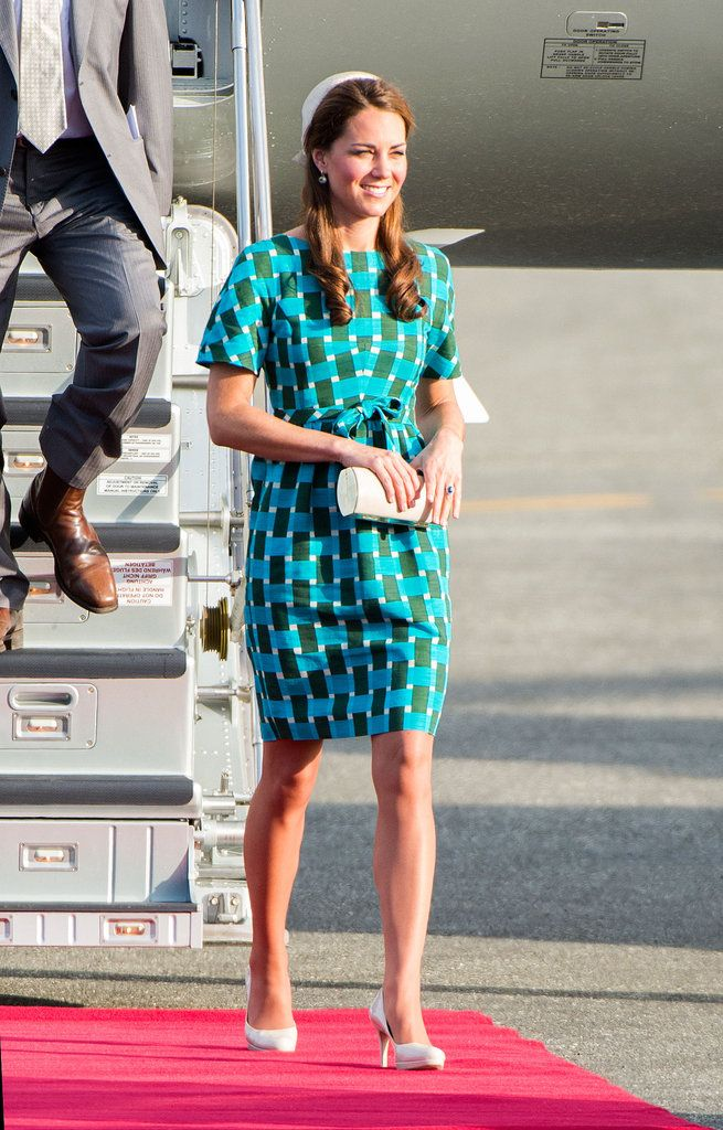 Kate Middleton Puts A Floral Finish On Her Diamond Jubilee