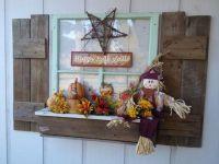 Window Box Fall Decor | Home Sweet Home | Pinterest