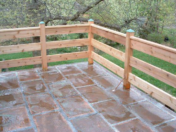 Deck Designs: Deck Railing Horizontal Designs