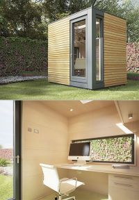 Backyard office. | Small space + design inspiration ...