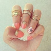 cute beach nails art