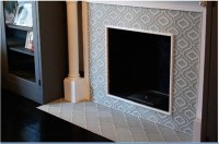 Revival: Moroccan tile fireplace | For the Home | Pinterest