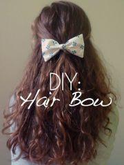 diy hair bows teens ideas