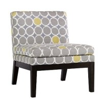 chair for gray and yellow bedroom | Yellow | Pinterest