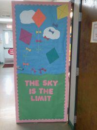 spring classroom door decorations spring door i made for ...
