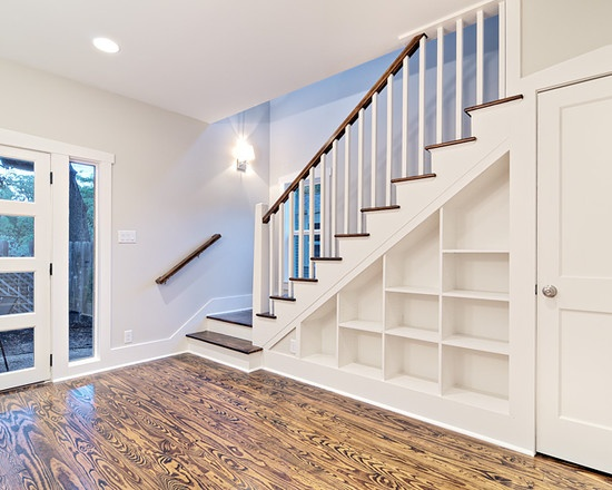 Bookcase Stairs Under Stairs Bookcase | Front Entry & Entry Hallways