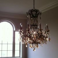 Foyer chandelier | Crap We Picked for the House | Pinterest