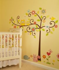 Whimsical Wall Tree Decal | Children's Wall Decor | Pinterest