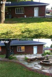 Backyard Patio Makeover