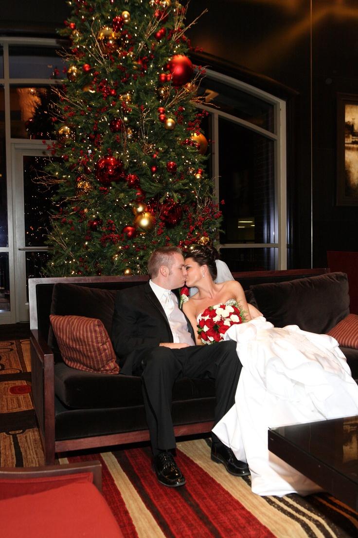 Christmas Time Wedding