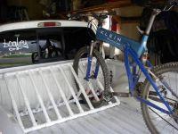 pvc pipe bike rack | Barn & Garden | Pinterest