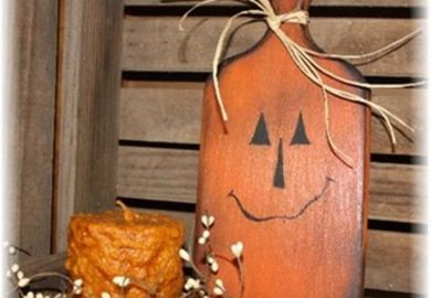Primitive Wood Craft Ideas