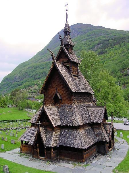 Norwegian wooden church  everything Norwegian Norway