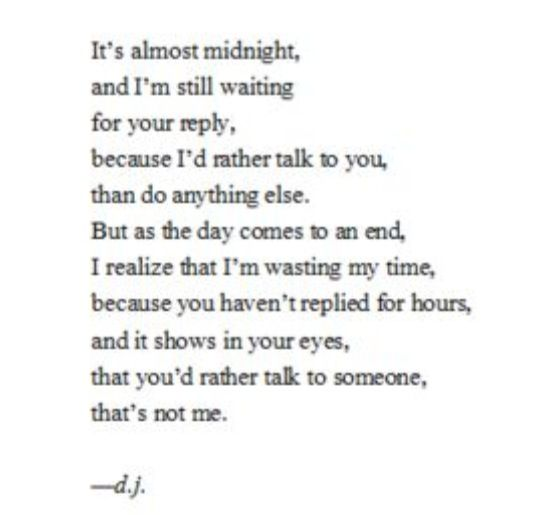 You Wasted My Time Quotes