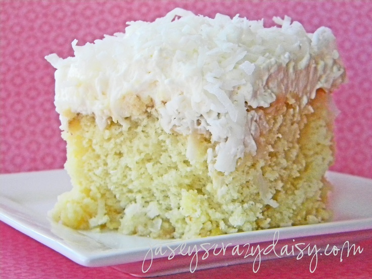 Pineapple Cake Box Mix