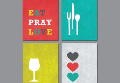 Eat Pray Love Wall Art