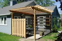 Pergola: Pergola Privacy Screens