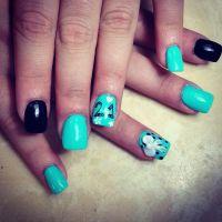 21st birthday nails design | I'm secretive | Pinterest
