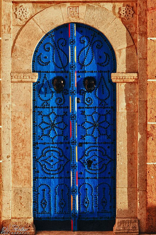 Blue & Old #Door