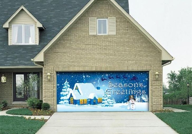 Door Decorations For Christmas