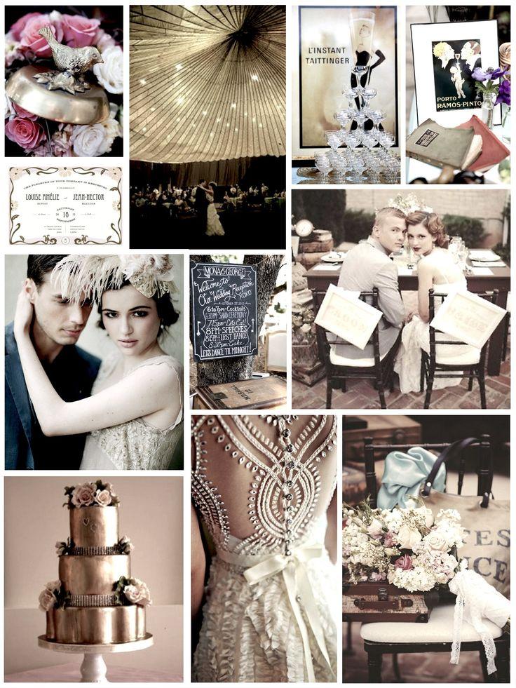 1920s Inspired Wedding Decor