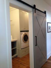 Barn Door - Laundry Room   Laundry Room   Pinterest