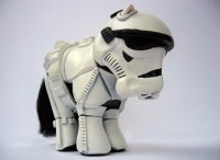 Stormtrooper costume for the pooch.