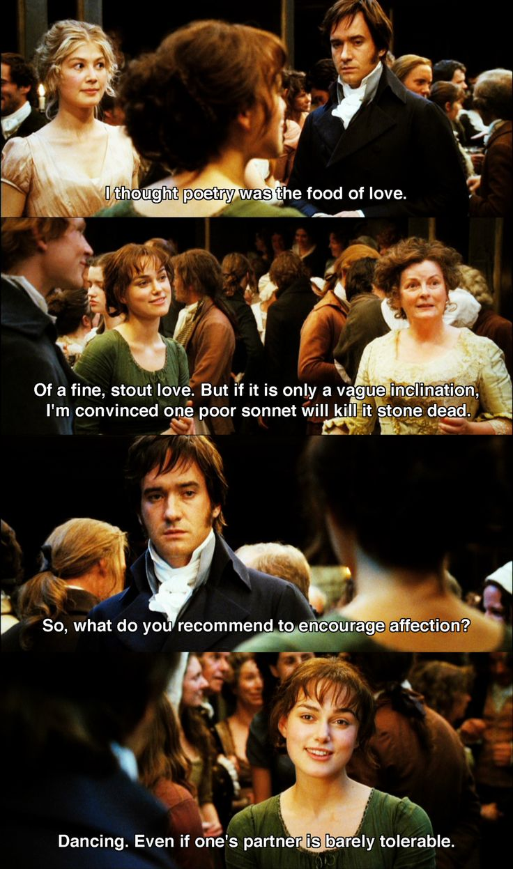 Famous Quote From Pride And Prejudice Darcy