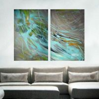 Extra large wall art - Original Large Abstract Painting ...