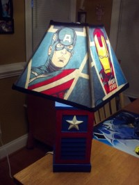 Avenger Lamp decoration. | Ezekiel | Pinterest