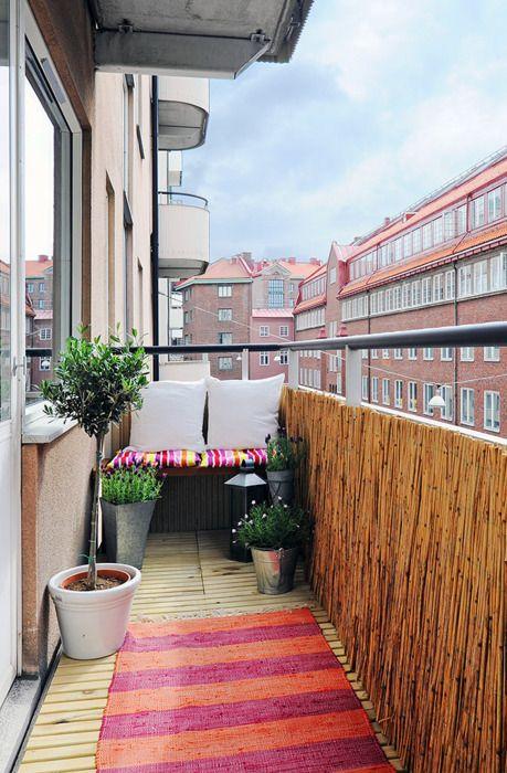 balcone piccolo 20 idee per arredare 2 guida giardino On coprire ringhiera balcone
