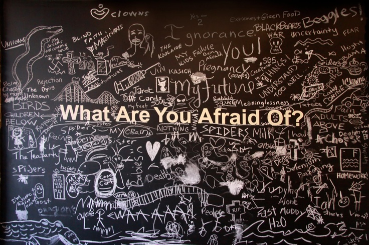 Fear is just an illusion, it doesn't exist – you created it. It's all in your mind. Correct the inside and the outside will fall into place.