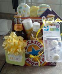 Couples baby shower gift.   gift ideas   Pinterest